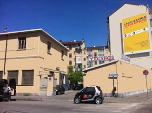 la smart delle carrozzerie Torino